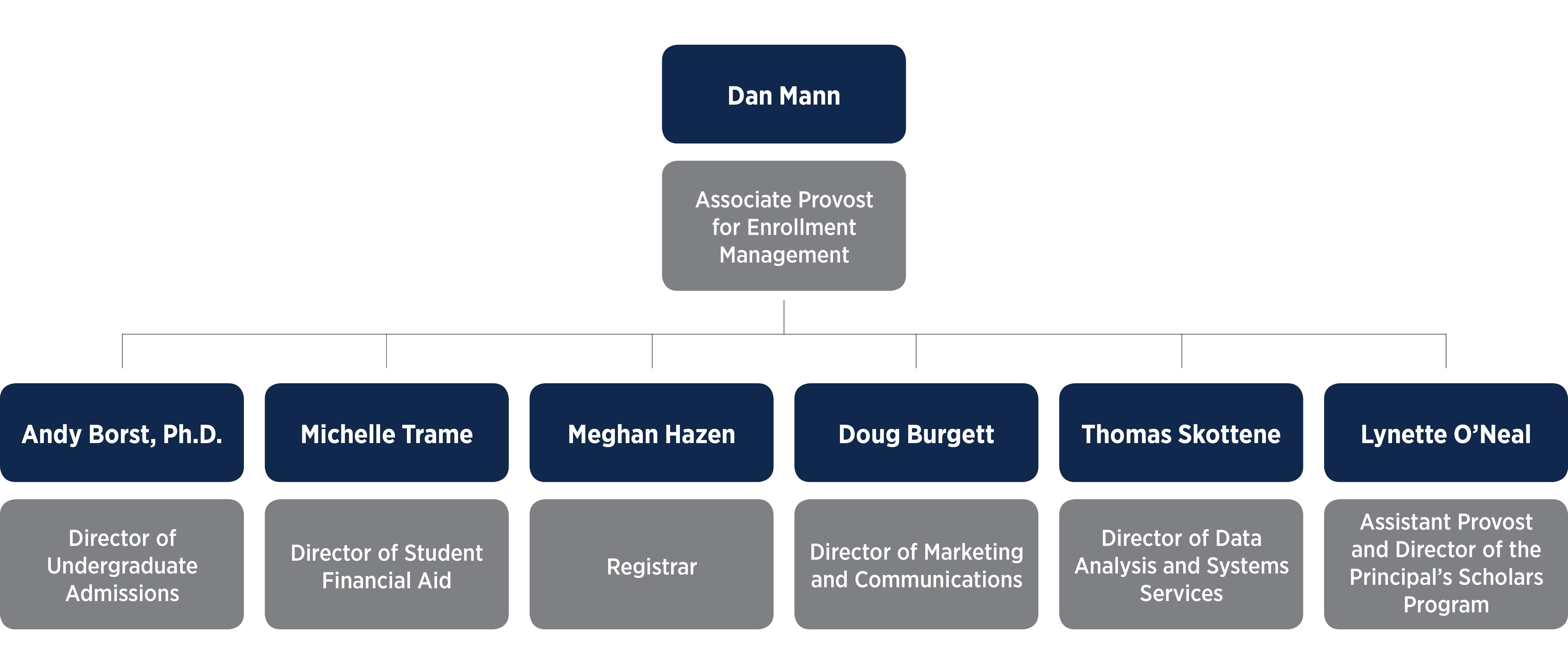 Illinois Enrollment Management Org Chart